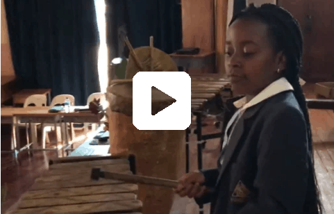 Traditional Wooden Xylophone