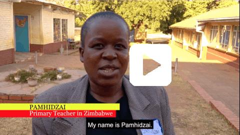 Teacher from Zimbabwe
